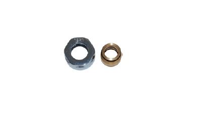 Vario Term Svěrné spojky pro měděné potrubí 15×1 mm Barva: Lesklý chrom